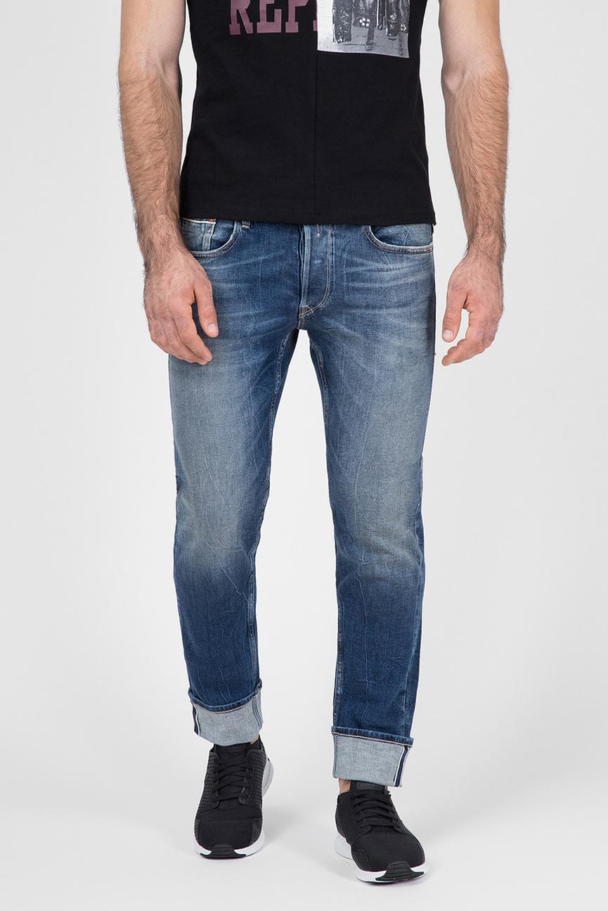 Мужские голубые джинсы GROVER