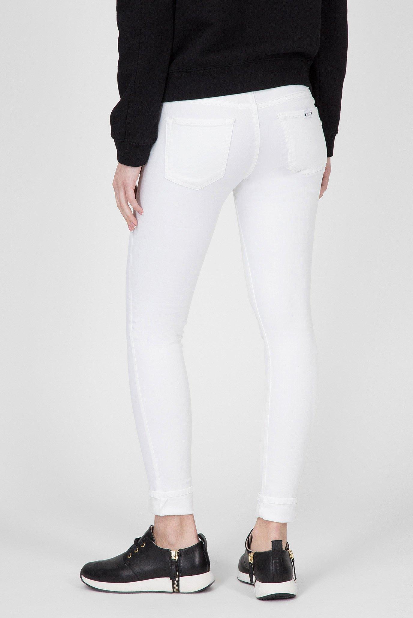 Женские белые джинсы LUZ COIN ZIP Replay