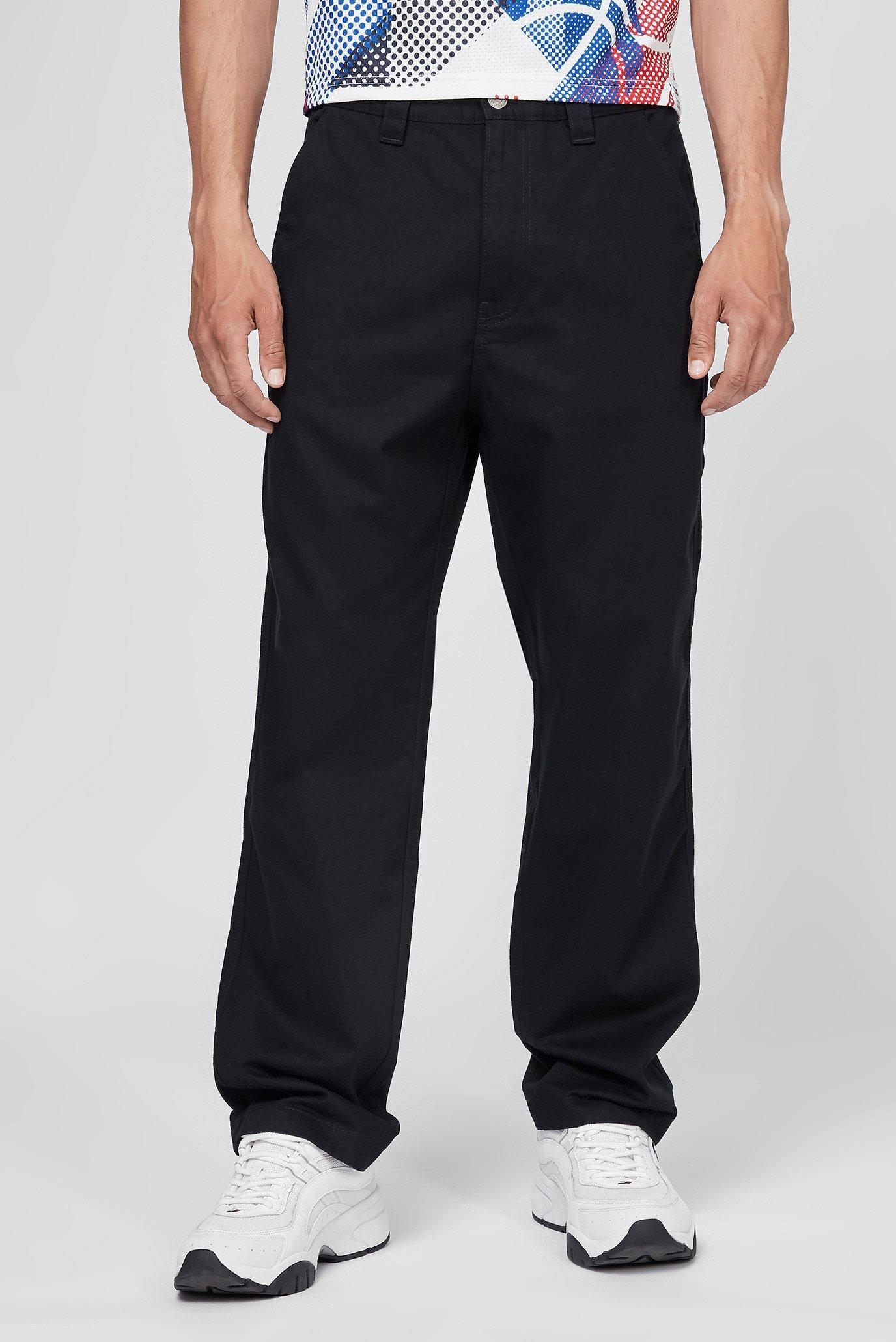 Мужские черные брюки TJM SKATER COTTON PANT 1