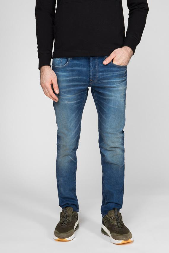 Мужские синие джинсы 3301 Slim