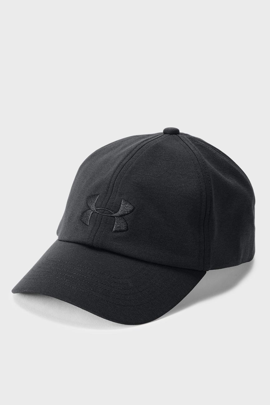 Женская черная кепка UA Threadborne Renegade Cap