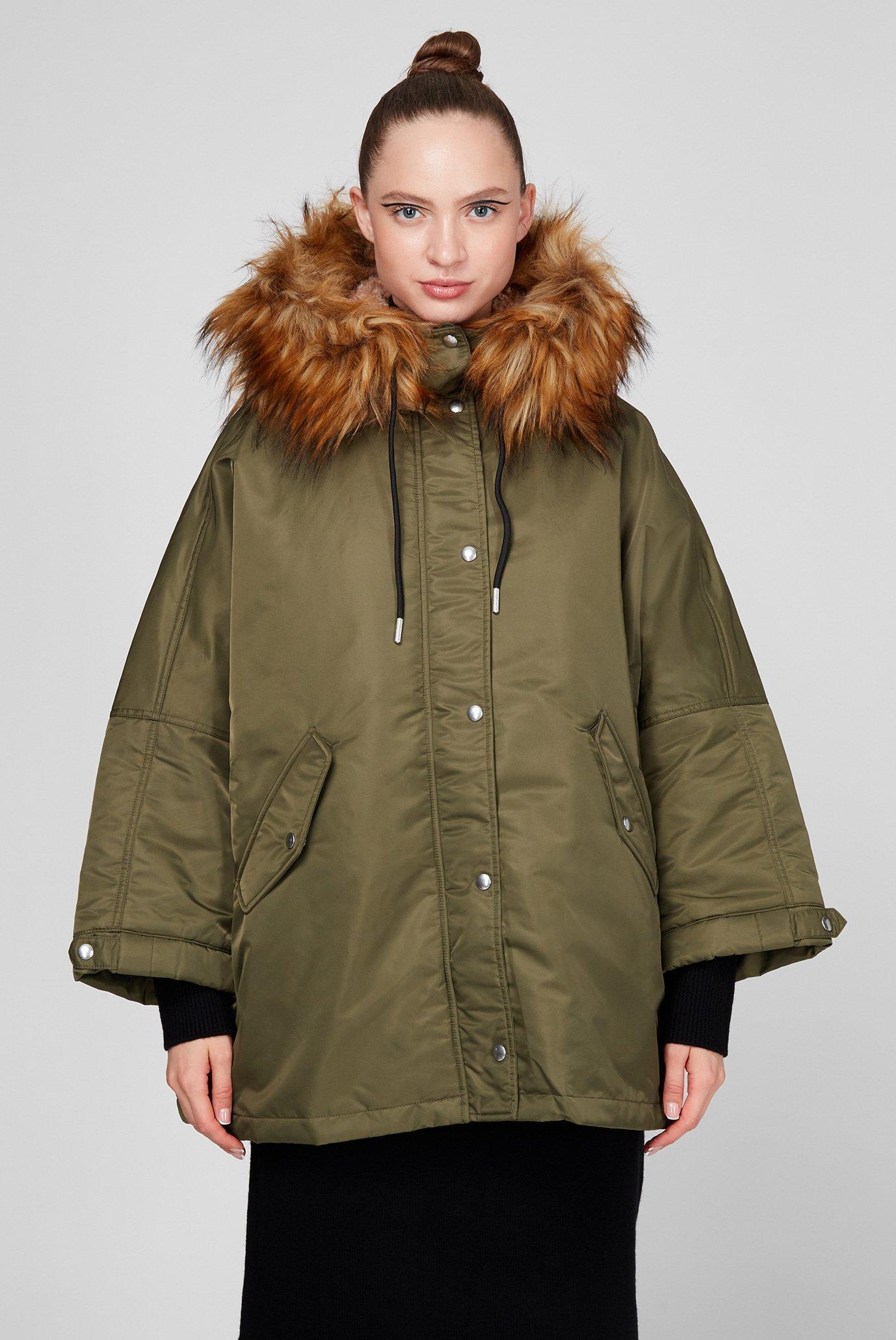 Жіноча зелена куртка W-FLORES 1