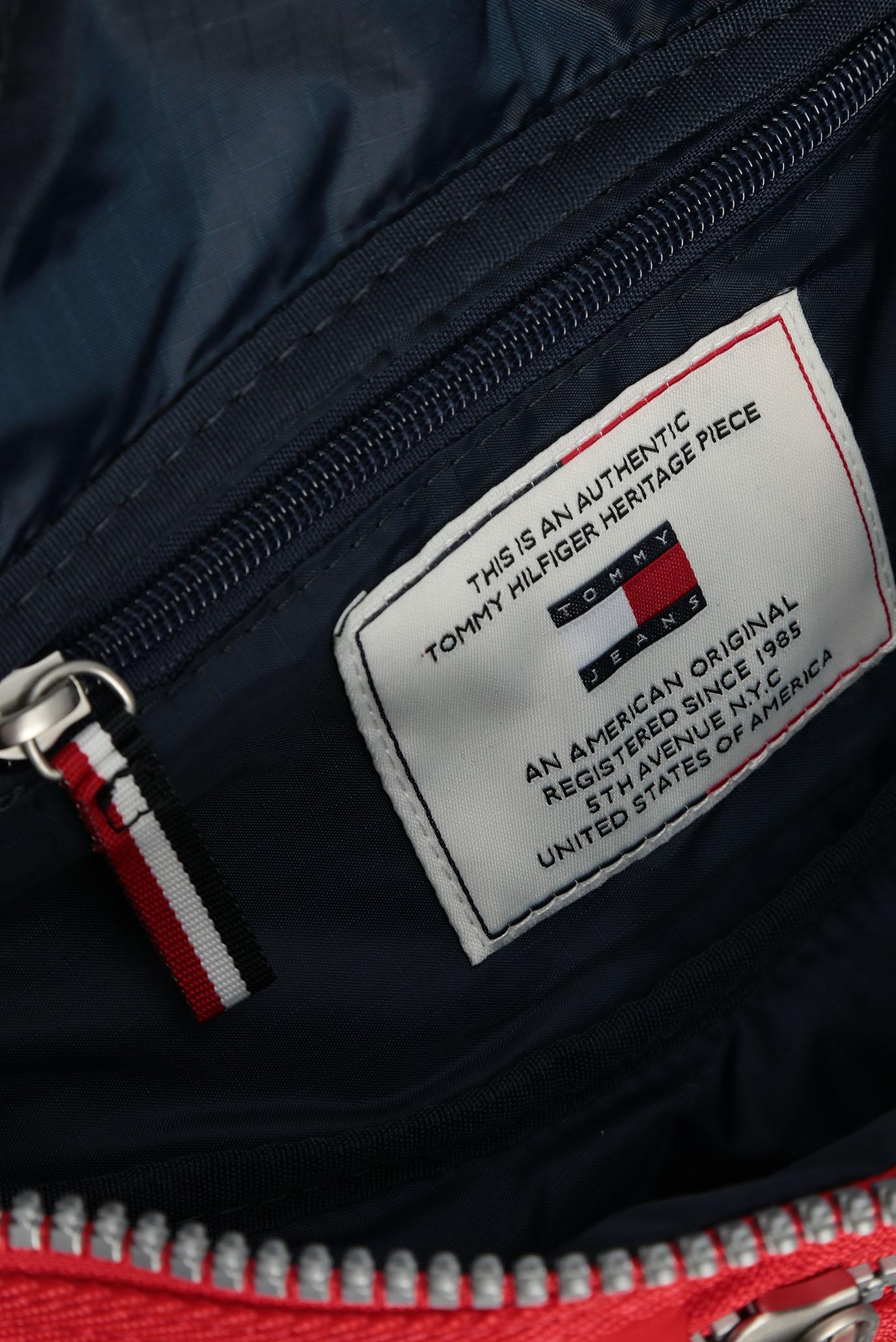 Мужская красная поясная сумка TJM HERITAGE Tommy Hilfiger