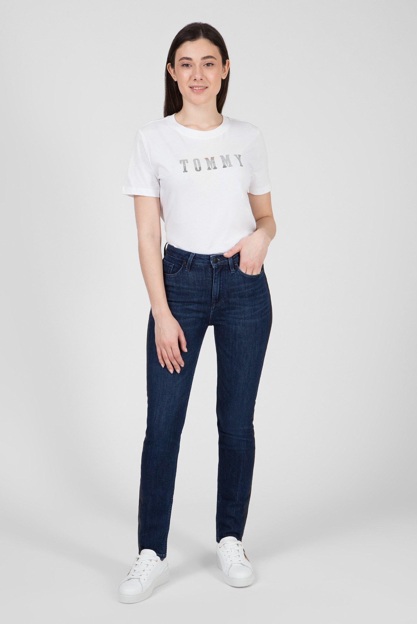Купить Женские темно-синие джинсы RIVERPOINT Tommy Hilfiger Tommy Hilfiger WW0WW23809 – Киев, Украина. Цены в интернет магазине MD Fashion