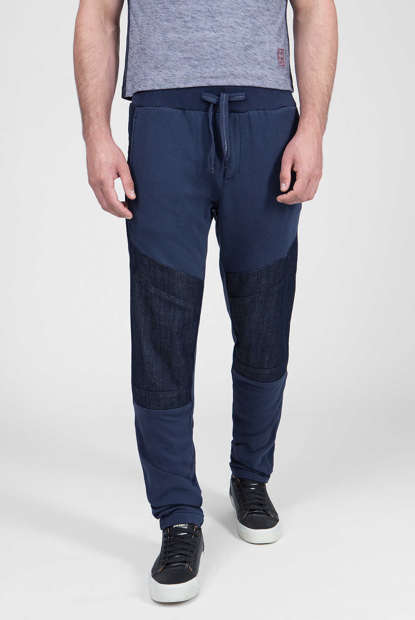 Купить Мужские синие брюки KEYS MIX Pepe Jeans Pepe Jeans PM2042692 – Киев, Украина. Цены в интернет магазине MD Fashion