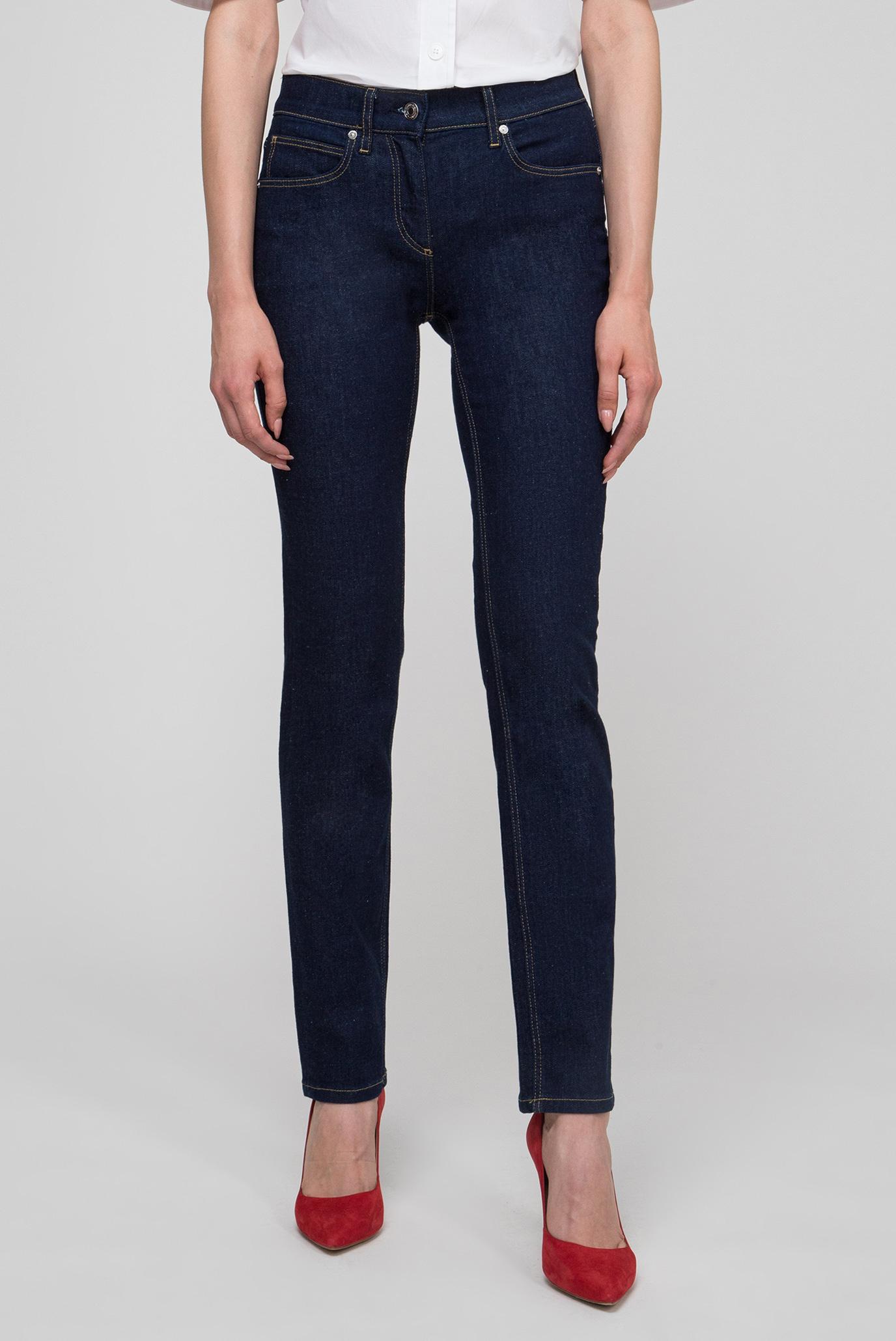 Купить Женские темно-синие джинсы SLL 5PKT JEAN Calvin Klein Calvin Klein K20K200599 – Киев, Украина. Цены в интернет магазине MD Fashion
