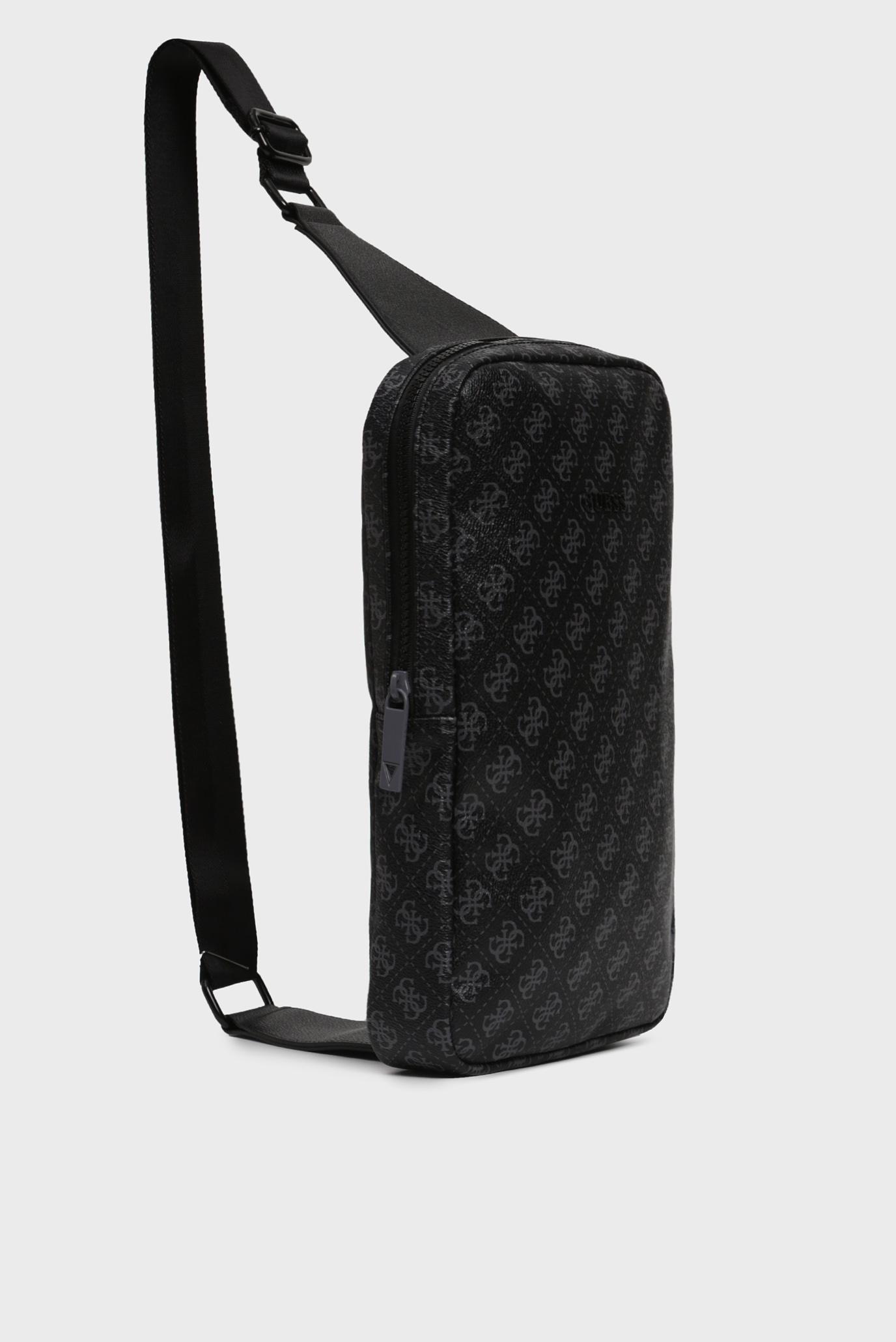 Мужской черный рюкзак 4G SPORT CROSSOVER BACKPACK Guess