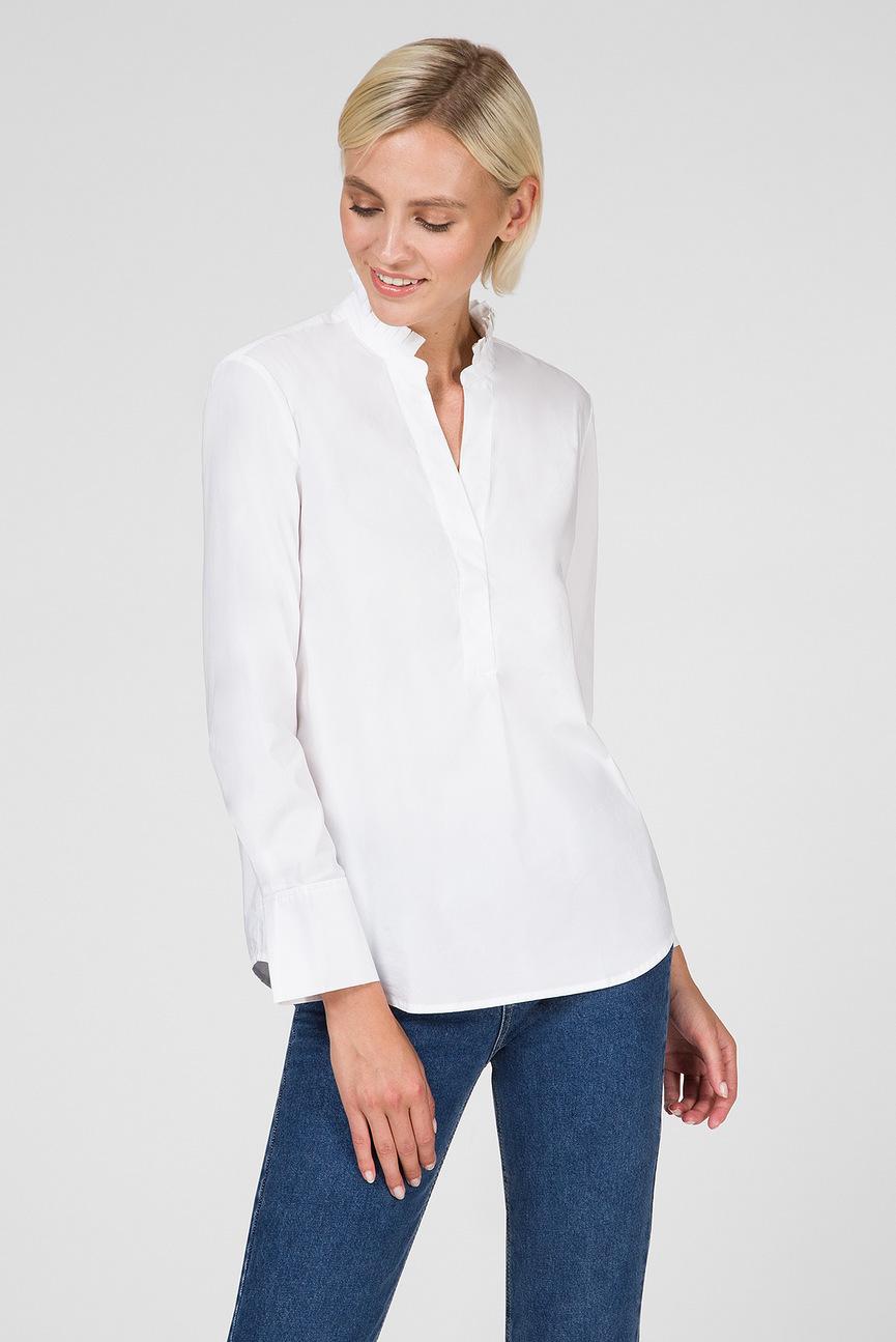 Женская белая блуза TP FRILL SHIRT