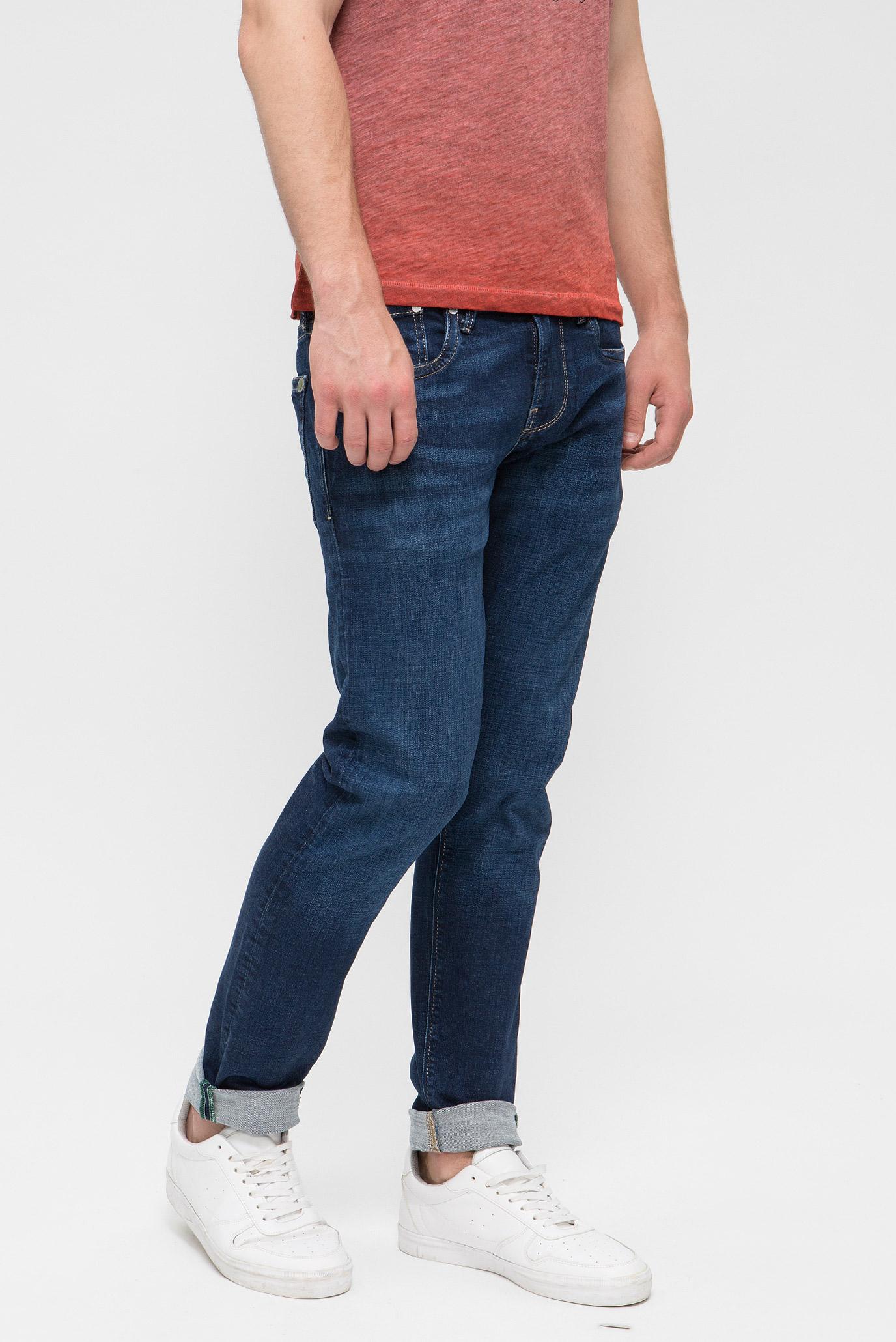 Купить Мужские темно-синие джинсы HATCH Pepe Jeans Pepe Jeans PM200823WW92 – Киев, Украина. Цены в интернет магазине MD Fashion