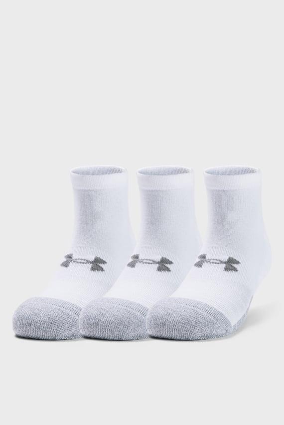 Білі шкарпетки UA Heatgear Locut