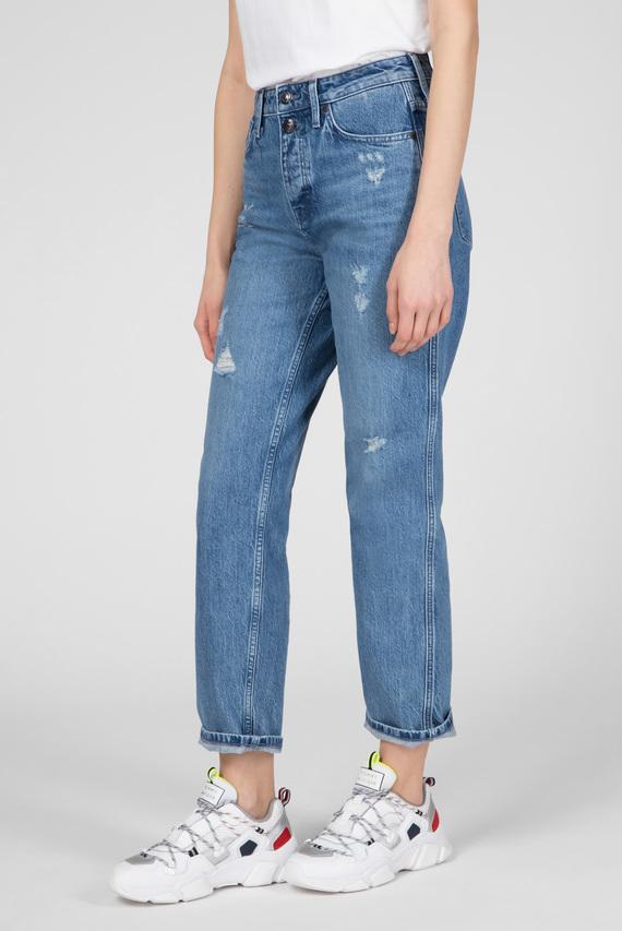 Женские голубые джинсы CLASSIC STRAIGHT
