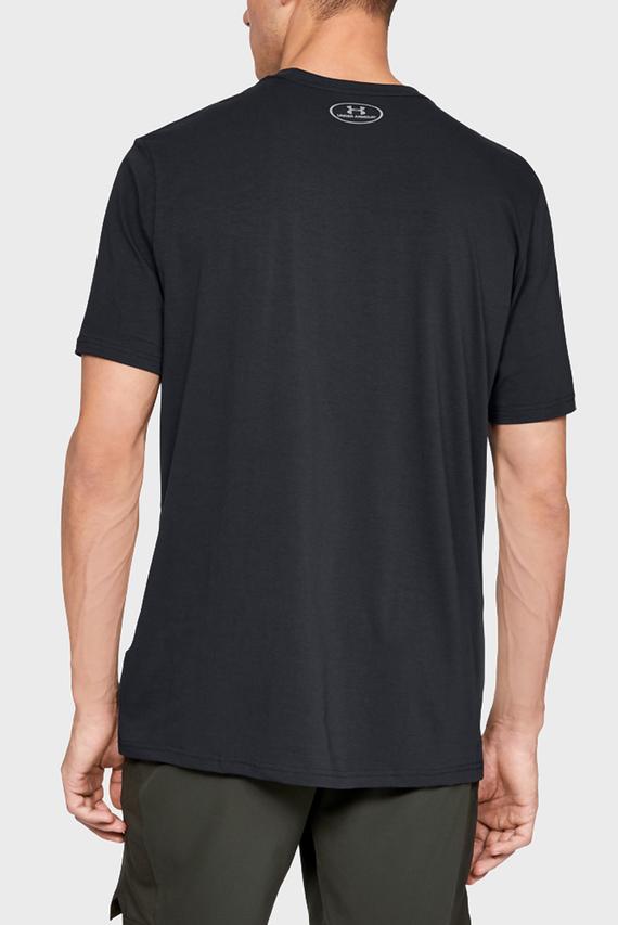 Мужская черная футболка Branded Big Logo T-Shirt 001