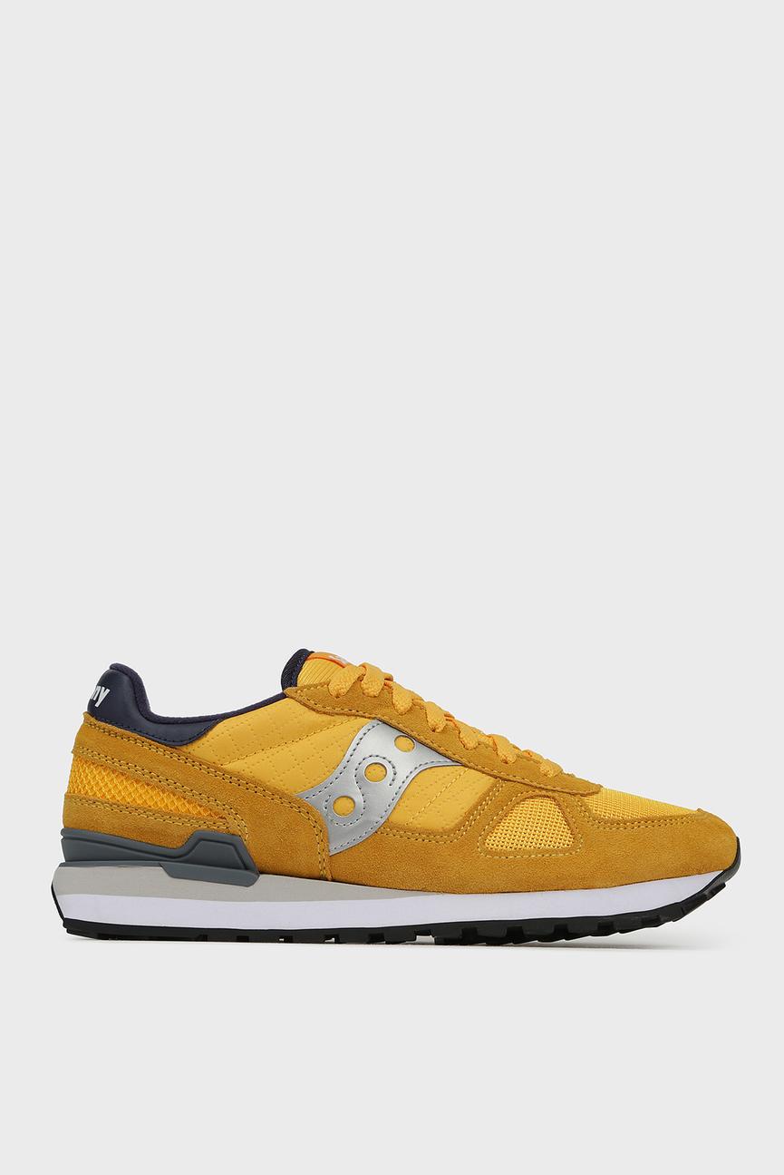 Мужские желтые замшевые кроссовки SHADOW ORIGINAL