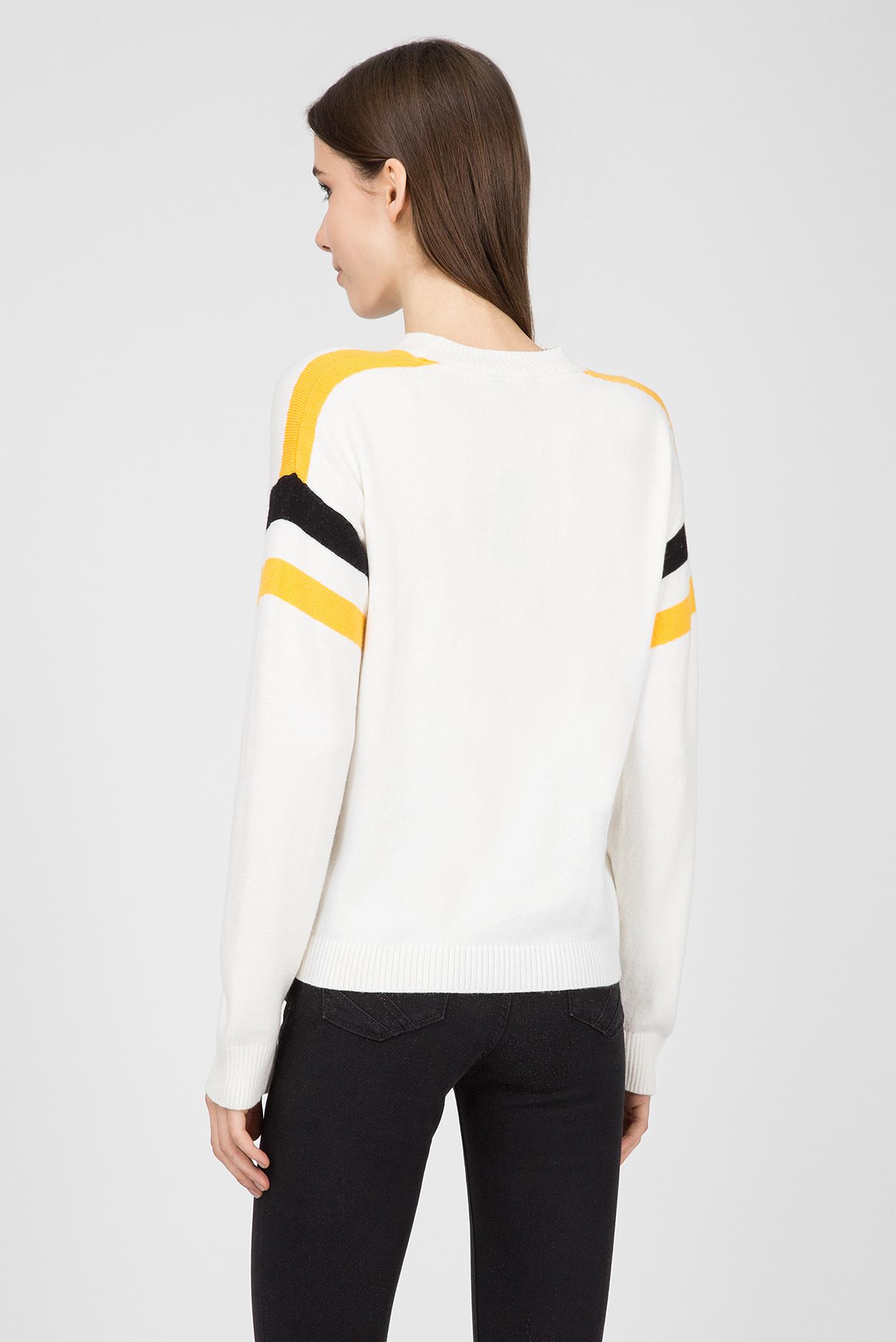 Купить Женский белый джемпер ADA Pepe Jeans Pepe Jeans PL701356 – Киев, Украина. Цены в интернет магазине MD Fashion