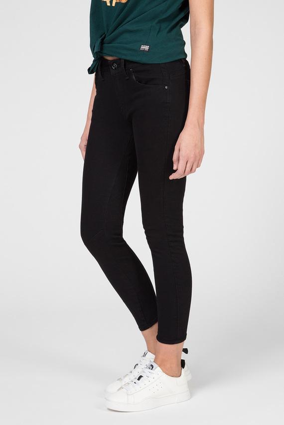Женские черные джинсы Arc 3D Mid Skinny