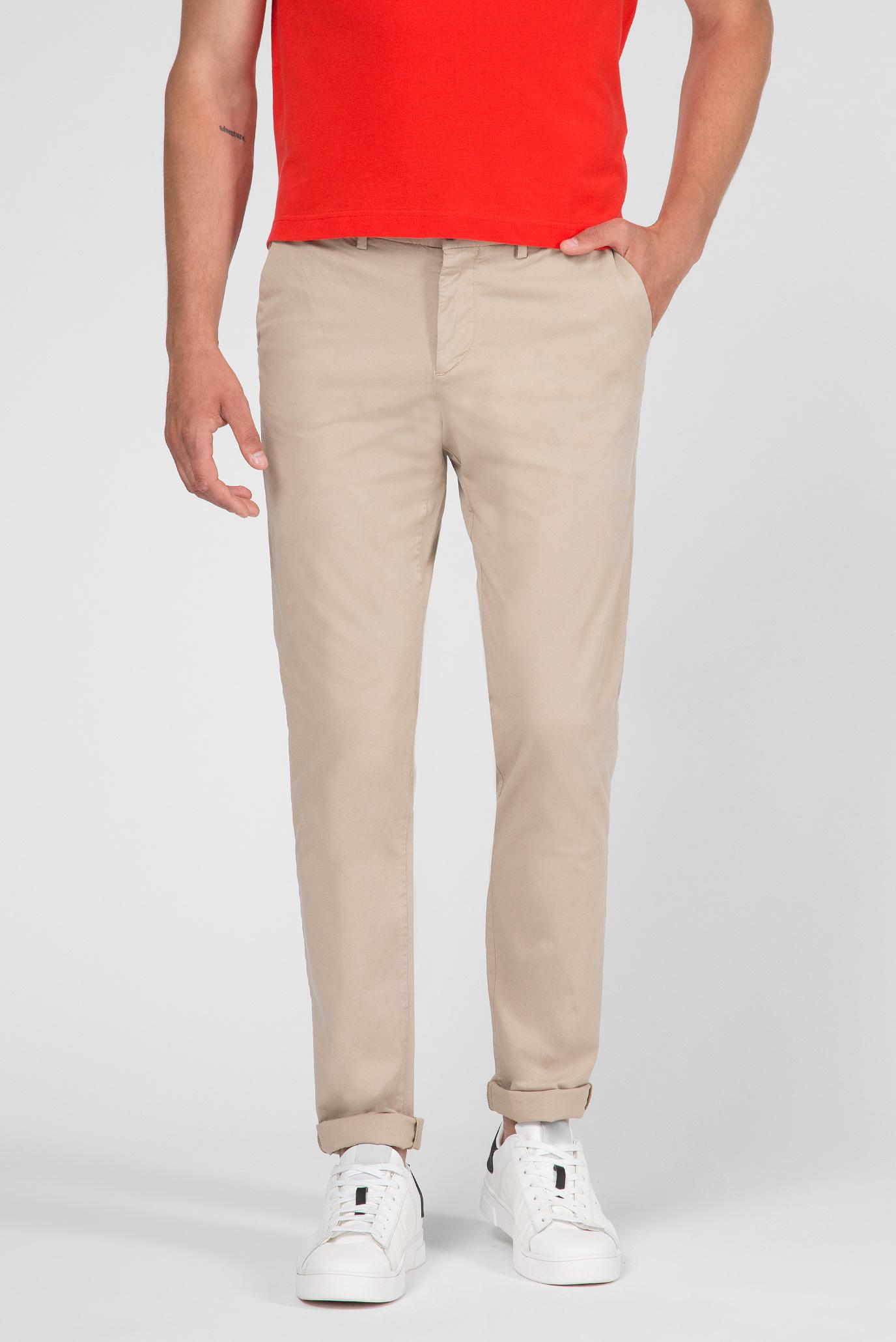 Купить Мужские бежевые чиносы AVIATOR Trussardi Jeans Trussardi Jeans 52P00000-1T002325 – Киев, Украина. Цены в интернет магазине MD Fashion