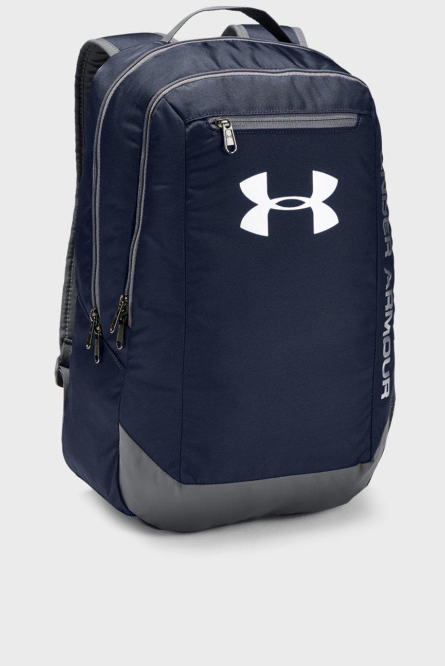 Мужской темно-синий рюкзак UA Hustle Backpack LDWR