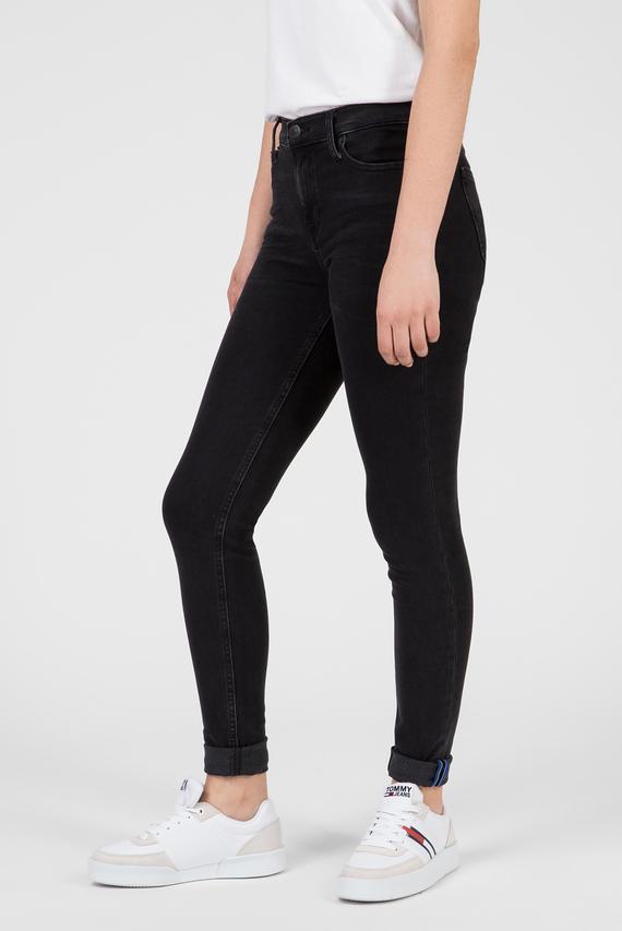 Женские черные джинсы MID RISE SKINNY NORA