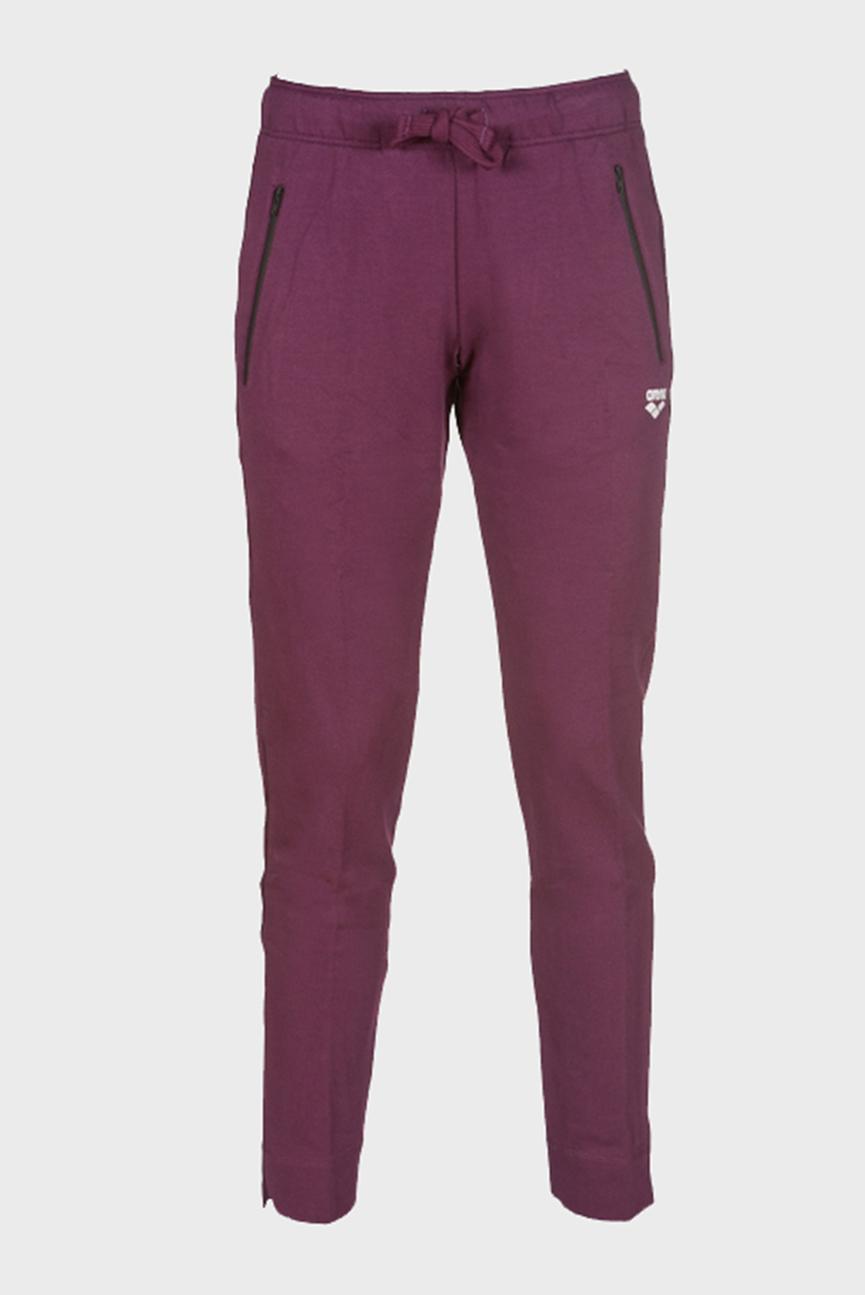 Женские бордовые спортивные брюки W STRETCH PANT