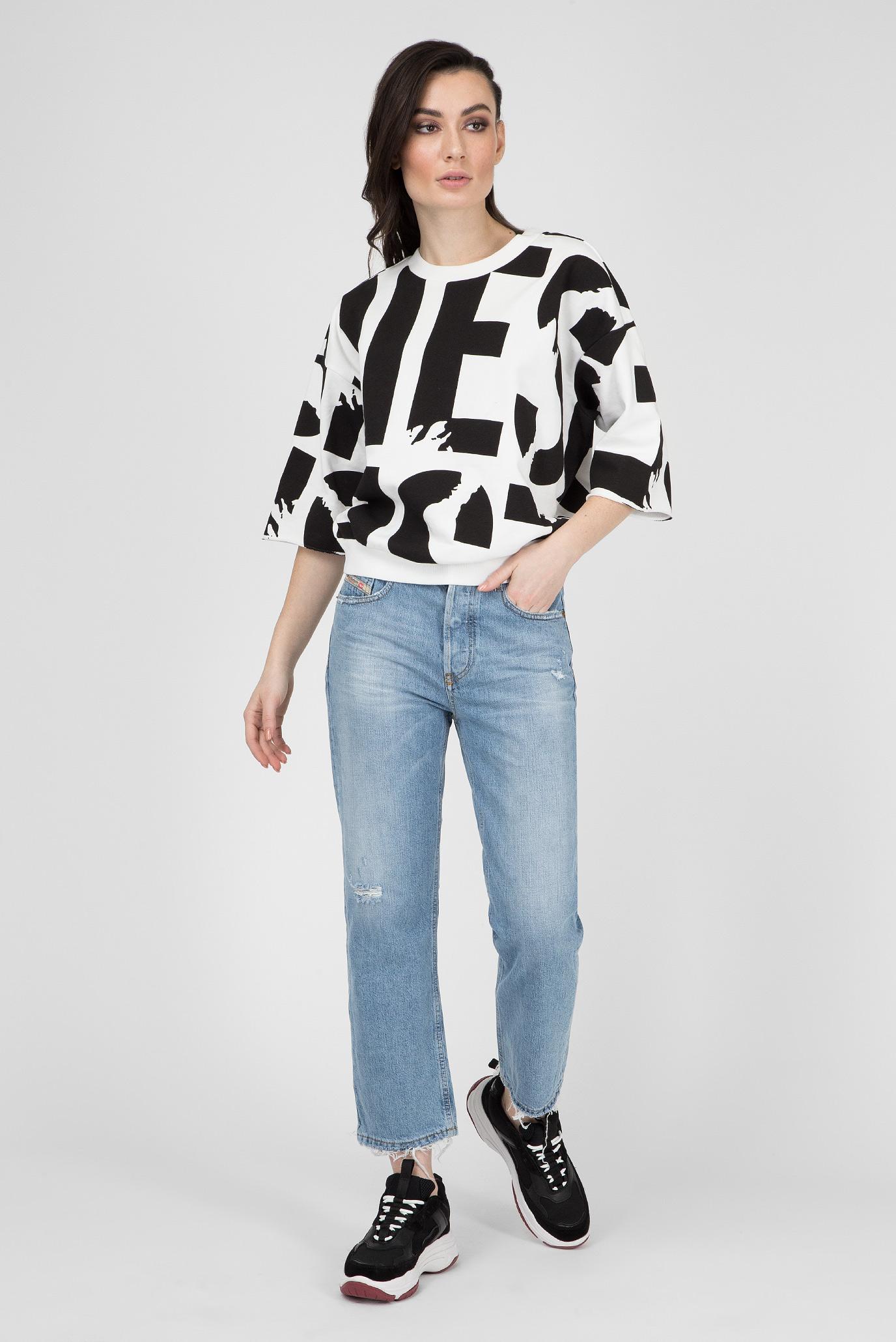 Купить Женские голубые джинсы ARYEL Diesel Diesel 00SHG7 080AF – Киев, Украина. Цены в интернет магазине MD Fashion
