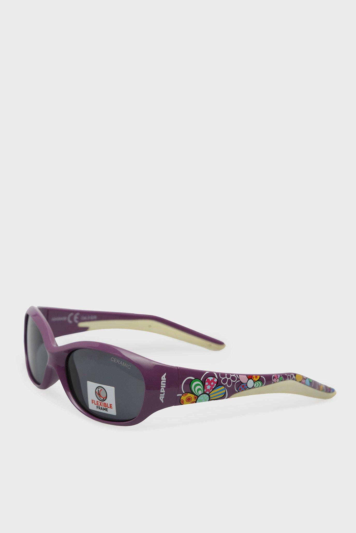 Дитячі фіолетові сонцезахисні окуляри FLEXXY KIDS 1