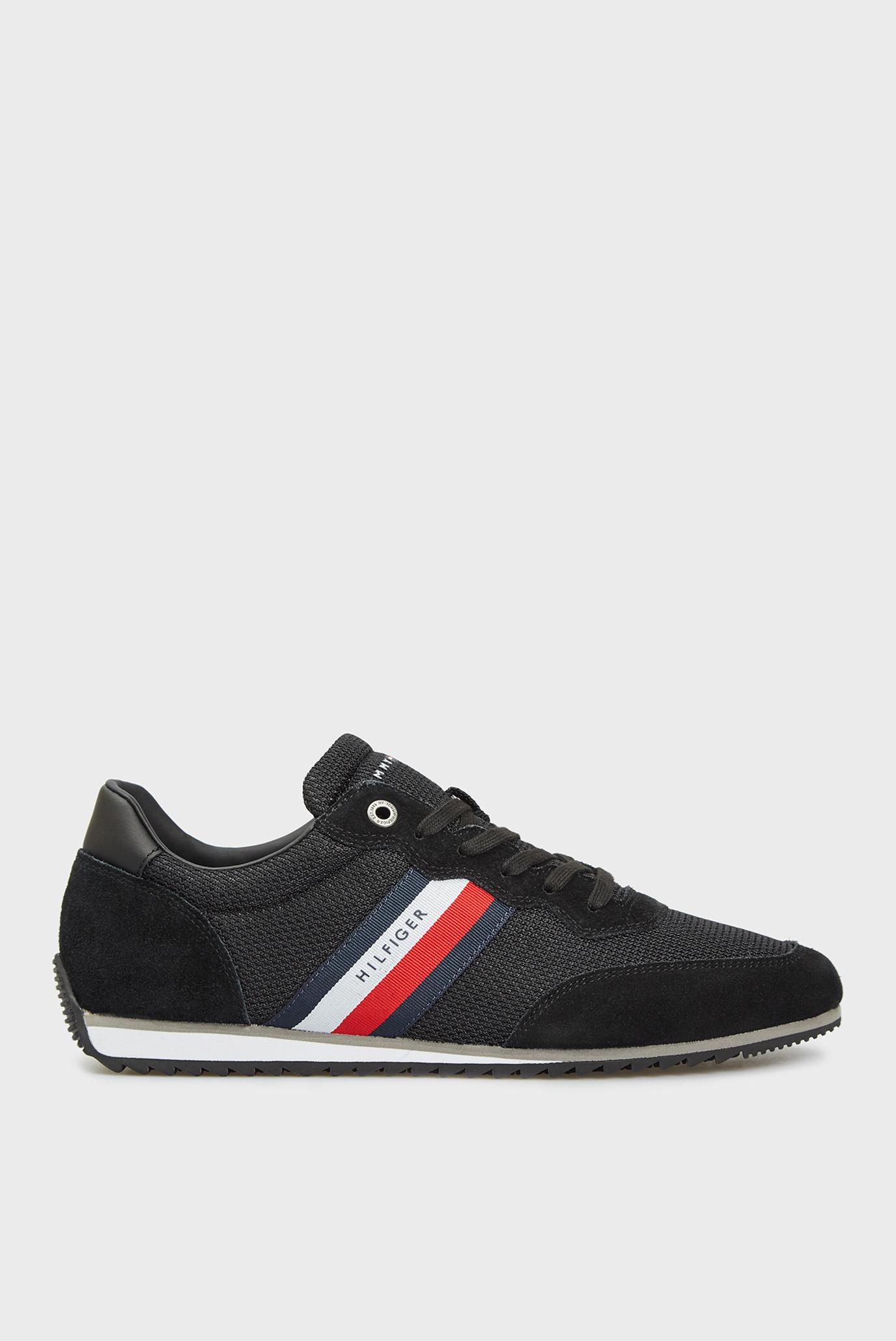 Чоловічі чорні кросівки ESSENTIAL MESH RUNNER 1