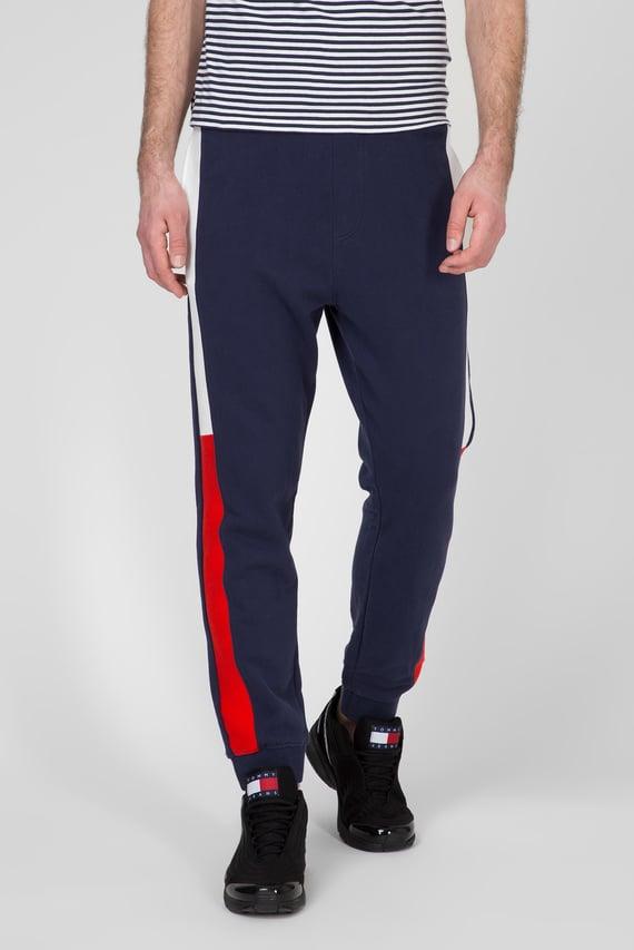 Мужские темно-синие спортивные брюки TJM JACQUARD FLAG