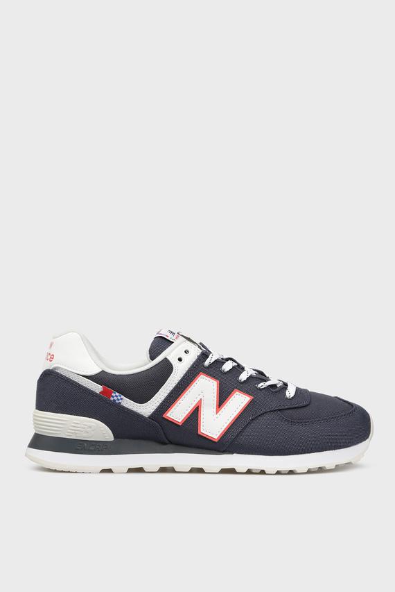 Мужские темно-синие кроссовки 574