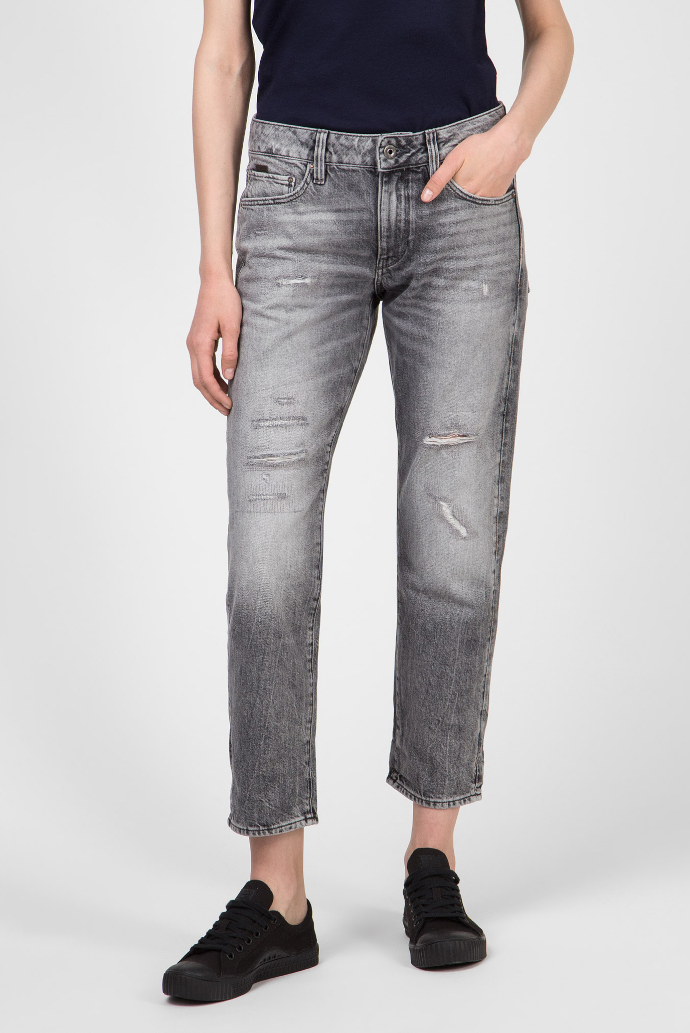 Женские серые джинсы Kate Boyfriend 1