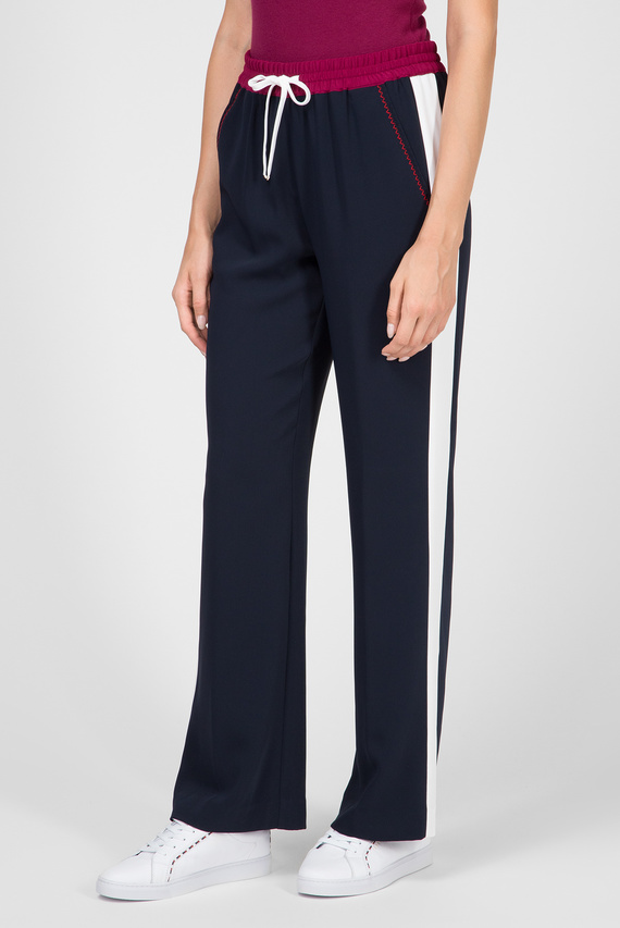 Женские темно-синие брюки FLORENTINA