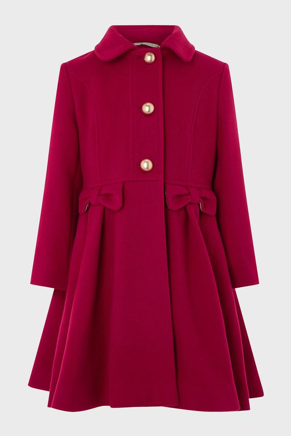 Детское красное пальто VICTORIA COAT