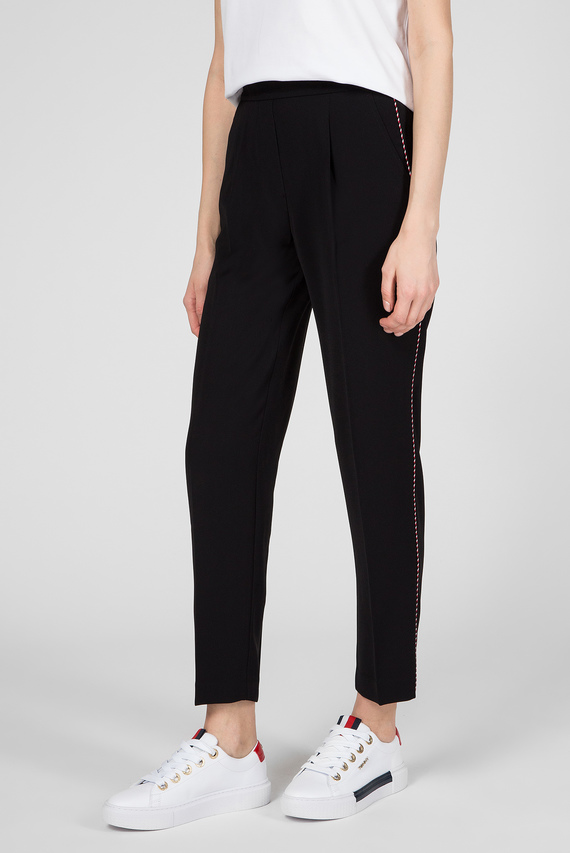 Женские черные брюки TATTIANA PULL ON