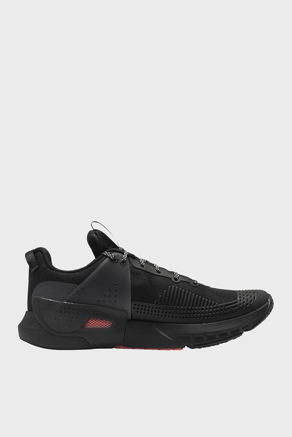 Мужские черные кроссовки UA HOVR Apex-BLK