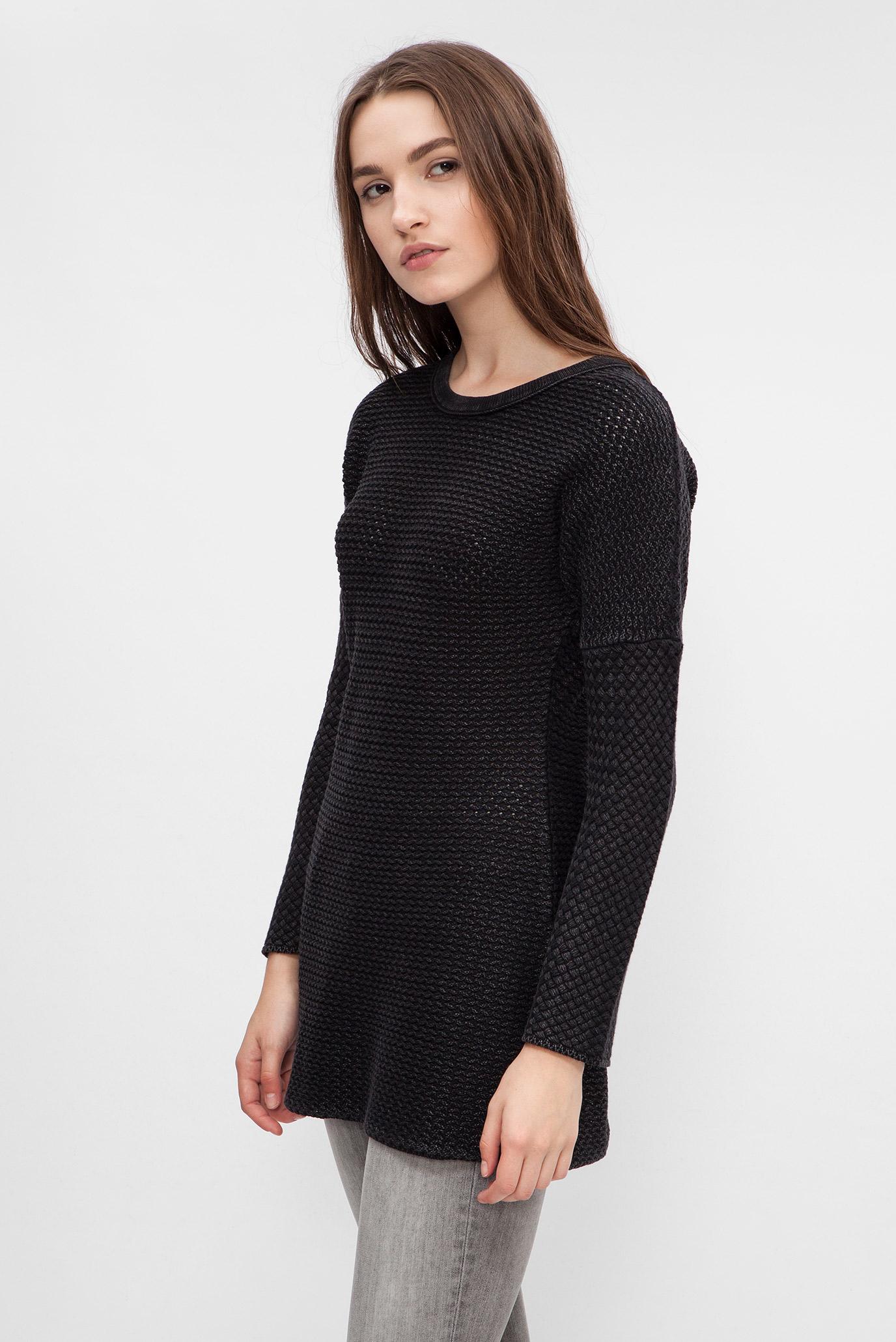 купить женский черный вязаный свитер Replay Replay Dk2159000