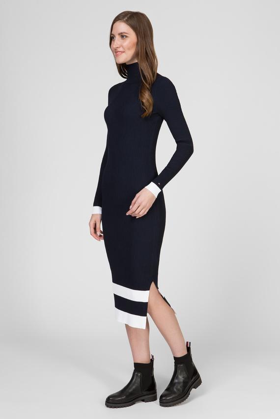 Женское темно-синее платье MANDIE