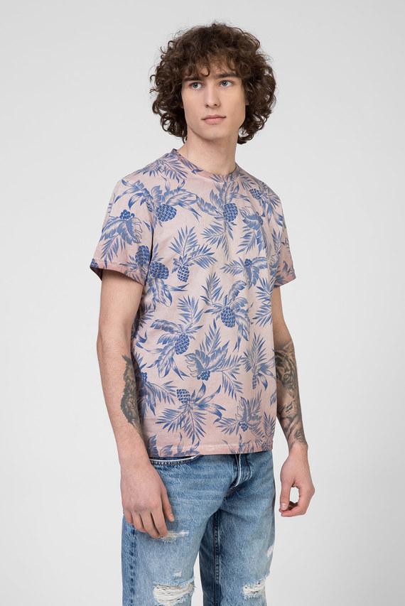 Мужская розовая футболка EMERSON