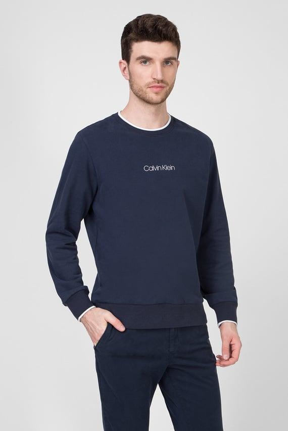 Мужской темно-синий свитшот CARBON BRUSH LOGO