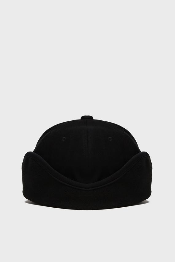 Мужская черная шерстяная кепка MULTIFUNCTION BB