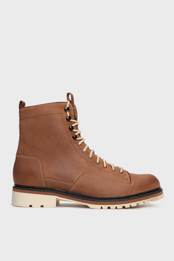 Мужские рыжие кожаные ботинки Roofer II