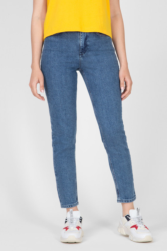 Женские синие джинсы GRAMERCY TAPERED HW A ALEK