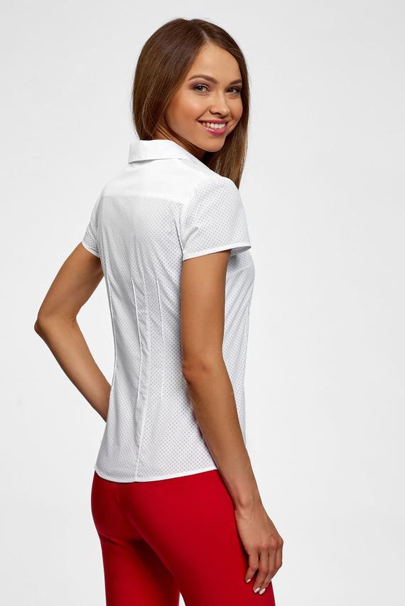 Женская белая блуза