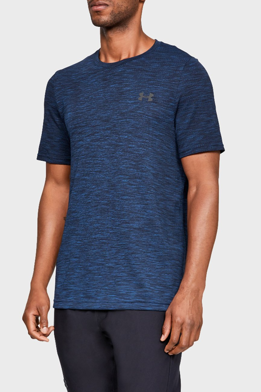 Мужская синяя футболка Siphon SS Fade Nov