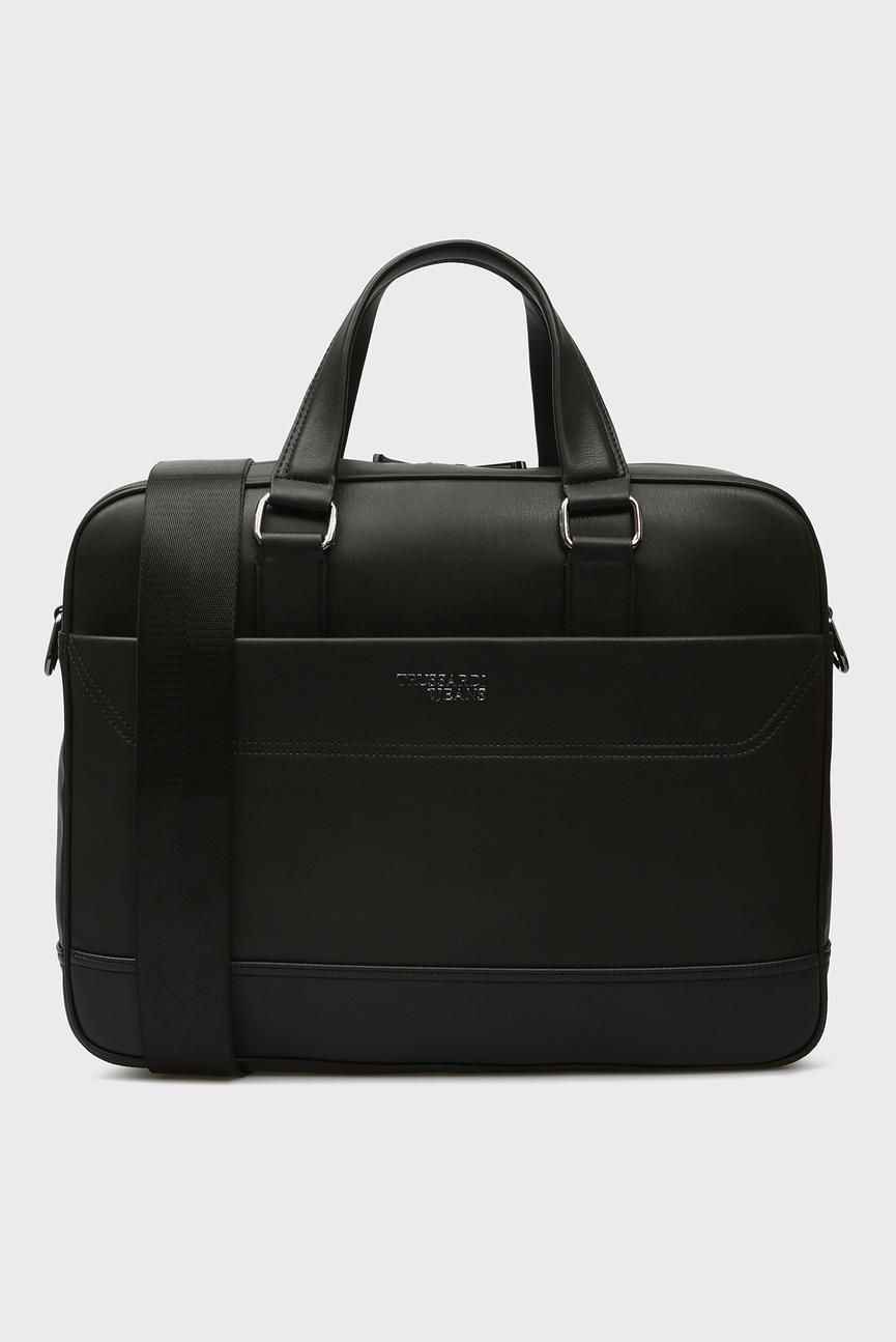 Мужская черная сумка для ноутбука BUSINESS