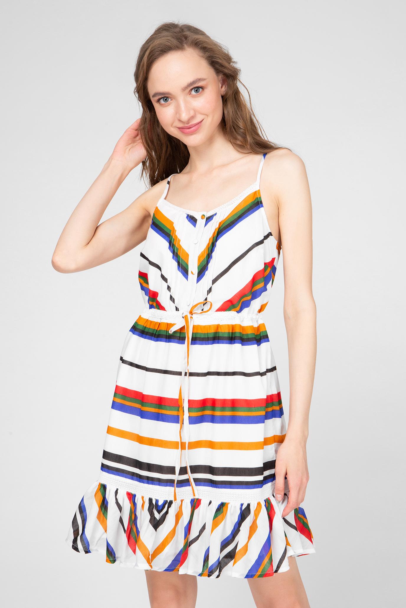 Женское платье с принтом Naf Naf