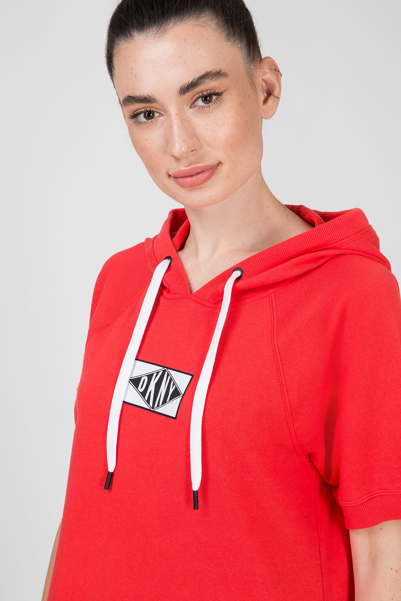 Женское красное платье SS SNEAKER DKNY