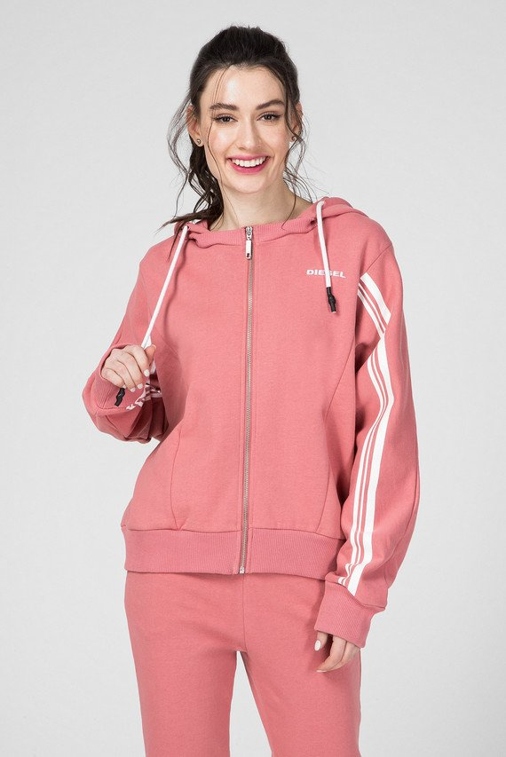 Женское розовое худи UFLT-VERTIX-HZ