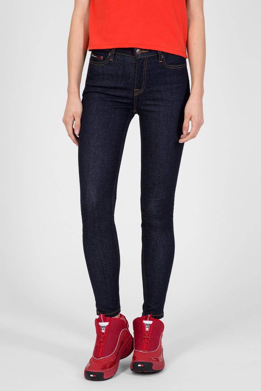 Женские темно-синие джинсы MID RISE SKINNY NORA
