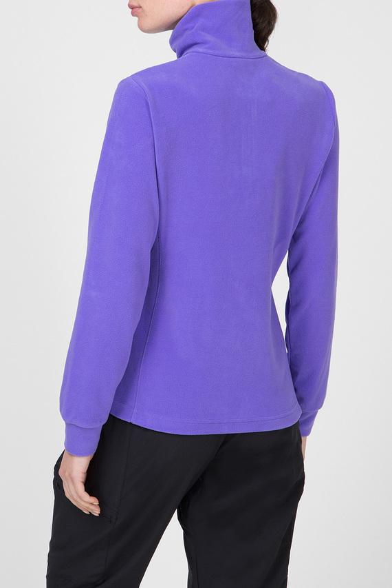 Женская фиолетовая спортивная кофта