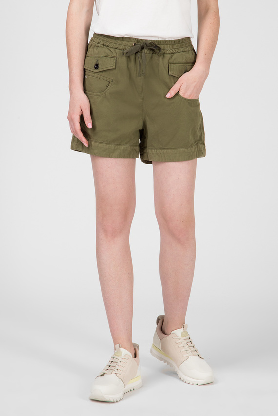 Женские зеленые шорты Army radar mid bf short wmn