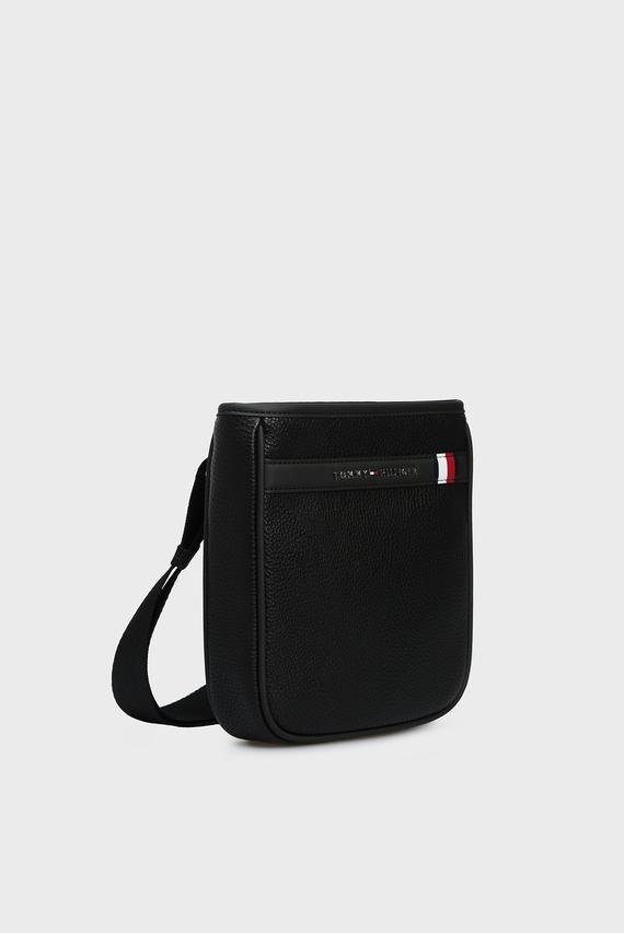 Мужская черная сумка через плечо TH DOWNTOWN MINI